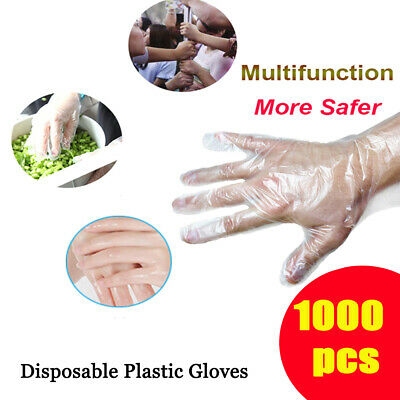 Fruit Premium Polythene Avoid Direct Touch Plastic Clear Food Disposable Gloves
