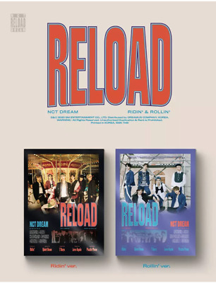 [ NCT DREAM ] - RELOAD 4th Mini Album CD+Photo Book+Circle Card+Free Shipping