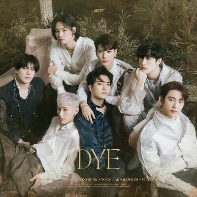 [ GOT7 ] - DYE / Not By The Moon Album CD+ Photobook + Mirrorcard + Bookmark