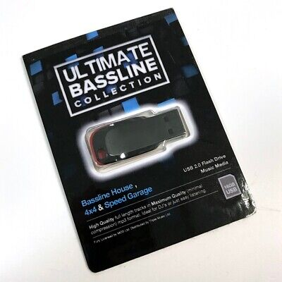 Ultimate Bassline Collection - 1200x DJ Friendly Full Length High Quality Tracks