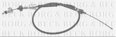 BORG & BECK CLUTCH CABLE FOR RENAULT KANGOO Box Petrol 1.6 70KW