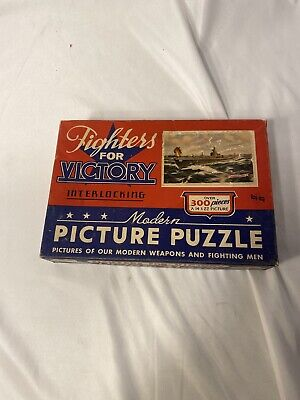 WW2 US Fighters For Victory Puzzle 300 Piece (E889