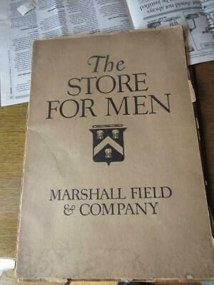 The Store for Men Marshall Field & Company Department Catalog 1918 Chicago Art