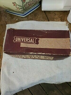 Vintage Universal  Food And Meat Chopper Grinder Original Box
