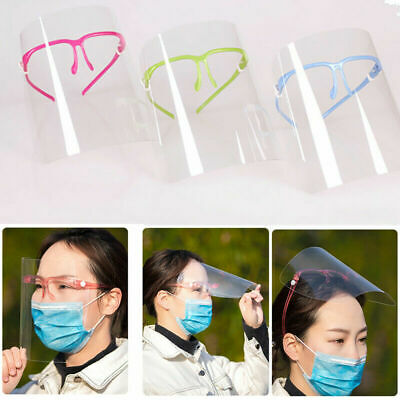 5X Full Face Covering Anti-fog Safety Shield Tool Cover Clear Glasses Eye Helmet