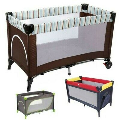 Baby-plus Travel Bed Lucca plus Choice of Colours New