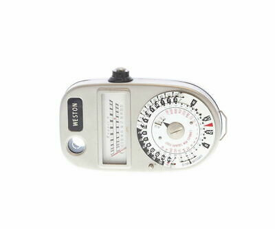 Westor model 348 light exposure meter with leather case