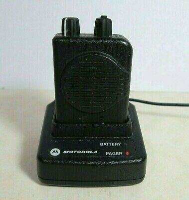 Motorola Minitor V (5) 2-Channel VHF Stored Voice SV Pager 138-155 MHz