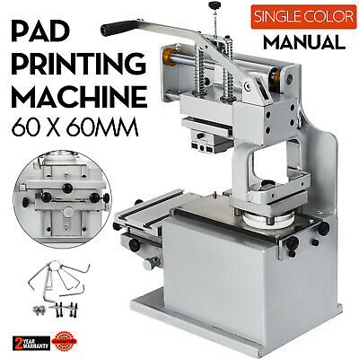 Manual Pad Printer Pad Printing Machine Transfer Sealed ink cup System Kit