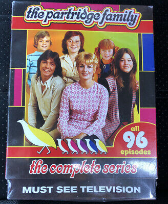 The PARTRIDGE FAMILY The COMPLETE SERIES 4 Seasons 96 Episodes 8-Disc SEALED