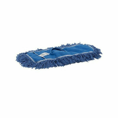 """Rubbermaid FGJ35700BL00 Twisted Loop Dust Mop, Synthetic, 48"""" Blue (case of 12)"""