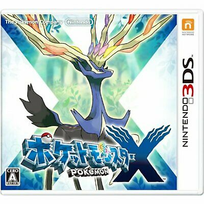3DS Pokemon X Japan Free Shipping with Tracking number New from Japan