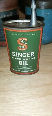 Vintage Singer Sewing Machine Oil Can Vintage Oil Can