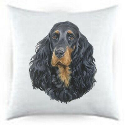Gordon Setter Satin Throw Pillow LP 44163