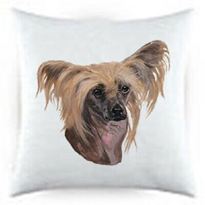 Chinese Crested Satin Throw Pillow LP 44069
