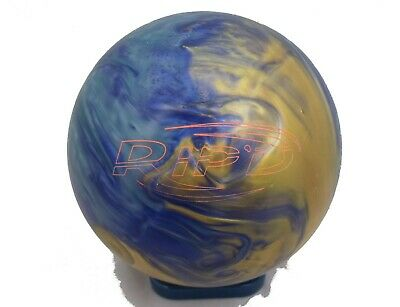 15lb Hammer Rip'D Pearl Tenpin Bowling Ball - plugged & refinished, undrilled