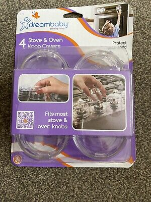 Dreambaby Stove & Oven Knob Covers Child Elderly Safety Brand New