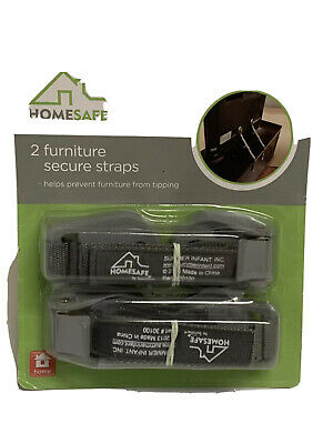 Home Safe by Summer Furniture Secure Straps, 2-Pack