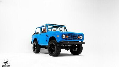 1974 Ford Bronco  New Ford Bronco w all new parts: v8 motor, paint, interior, AC, modern upgrades