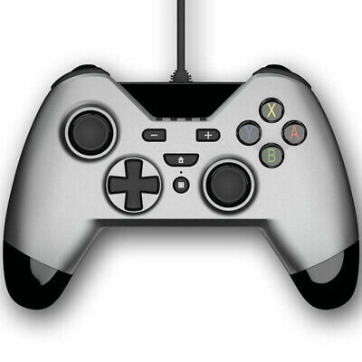 Gioteck WX-4 Wired Controller (Nintendo Switch) - Titanium NEW UK