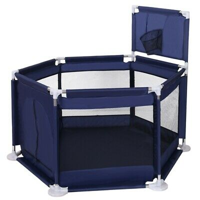 Folding Portable Playpen Baby Play Center Yard Ball Pool Indoor Outdoor Safety
