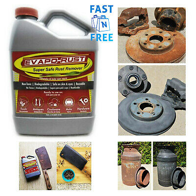 Rust Remover Tools Antiques Cookware Car Vehicle Hardware Rust Cleaner 32 oz.