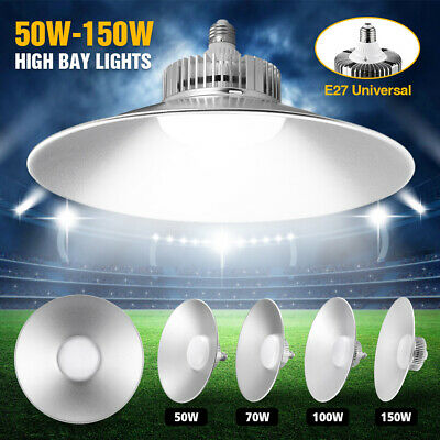 Led High Bay Light Warehouse Industrial Comercial Factory Cool White 6500K