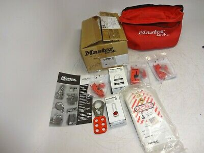 Master Lock S1010E410 Compact Lockout Pouch