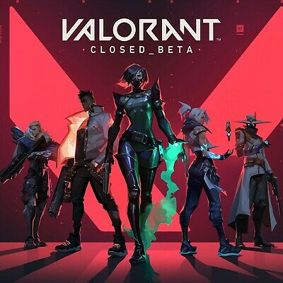 Valorant Closed-Beta-Account EU Instant deliveryNever usedEmail change