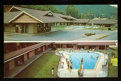 Gatlinburg, Tennessee, Jack Huff's Motor Court (GatlinburgTN183*