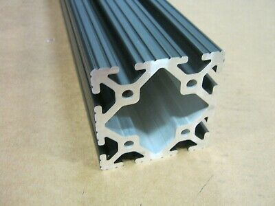8020 Inc 3 x 3 T-Slot Aluminum Extrusion 15 Series 3030 x 61.06 Black ANO F1-4