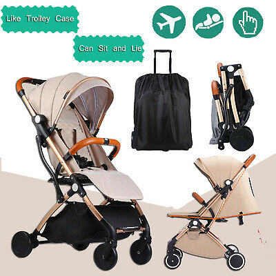 Compact Baby Prams Strollers Lightweight Foldable Pushchair Plane Carry On 2020
