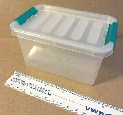 Plastic Storage Container Clear Stackable With Lid FREE SHIPPING