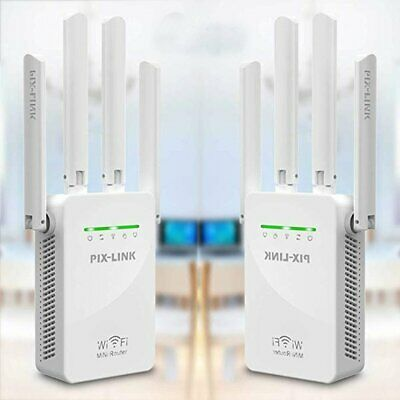 WiFi Extender Range Signal Booster Wireless Dual-Band Network Repeater 1200Mbps