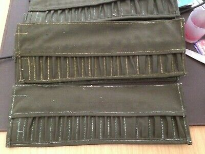 vintage canvas tool roll dated 1955 when packed