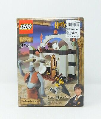 NEW  LEGO Harry Potter Set  TROLL ON THE LOOSE  #4712  Factory Sealed