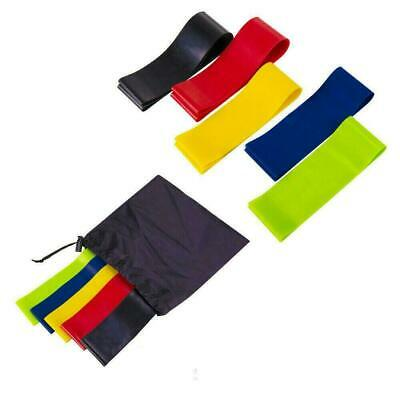 Resistance Loop Bands For Home Exercise Gym Fitness Yoga Latex Singles or Set