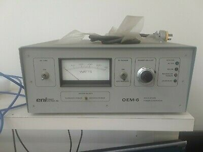 ENI Power Systems OEM-6 Solid State Power RF Generator OEM-6M