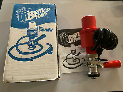Bronco R4067 Keg Pump With Box and Instructions