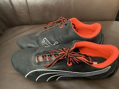 Puma Future Cat S1 Night Cat 305530 04 Shoes Mens Size 11.5 Black / Neón Orange