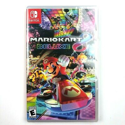 Mario Kart 8 Deluxe Video Game for Nintendo Switch NEW
