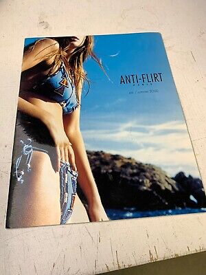 Summer of 2000 Anti-Flirt Paris Swimwear Magazine/Catalog