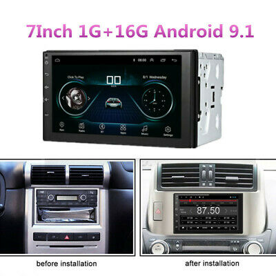 7in 2 DIN Touch Screen Car Multimedia Player Android Bluetooth Car GPS Navigator