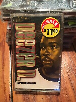 Deezer D Livin Up In A Down World New Sealed Rap Cassette Tape 1999 N Soul