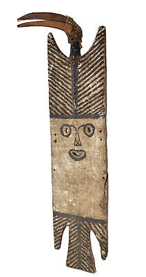 Bobo Fing Harvest Mask with Bird Burkina Faso African Art