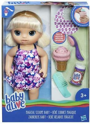 Baby Alive Magical Scoops Baby With Blonde Hair