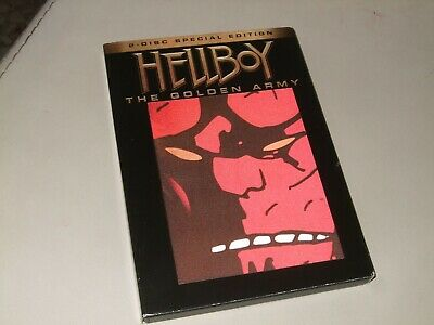 Hellboy The Golden Army  Dvd Originale   Special Edition 2 Dvd Cover Olografica