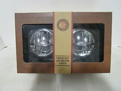 14-19 Genuine Indian Chieftain Roadmaster Front Pathfinder LED Driving Lights