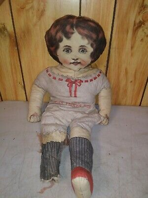 Rare Vintage 1899 Miss Flaked Rice Doll Cook's Cereal Premium