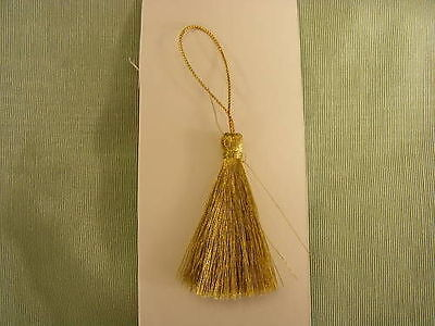 Tassels -  Metallic Gold x 12